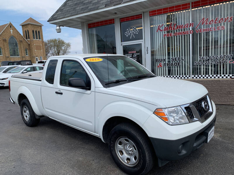 2018 Nissan Frontier for sale at KUHLMAN MOTORS in Maquoketa IA