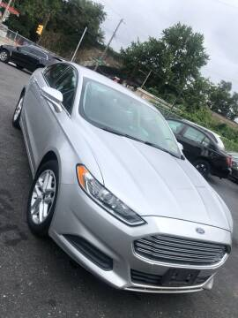 2013 Ford Fusion for sale at GM Automotive Group in Philadelphia PA