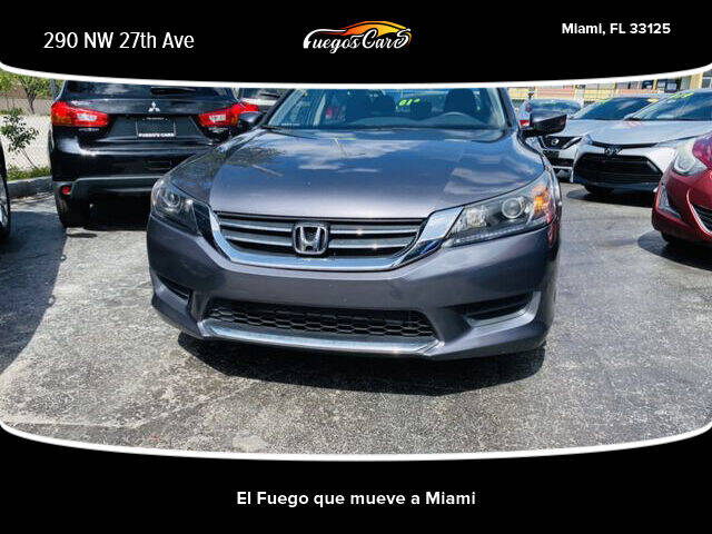 2015 Honda Accord for sale at Fuego's Cars in Miami FL