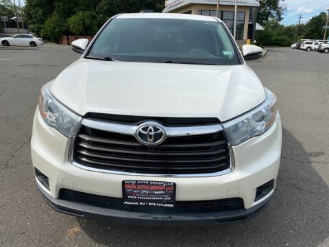 2015 Toyota Highlander for sale at Nasa Auto Group LLC in Passaic NJ