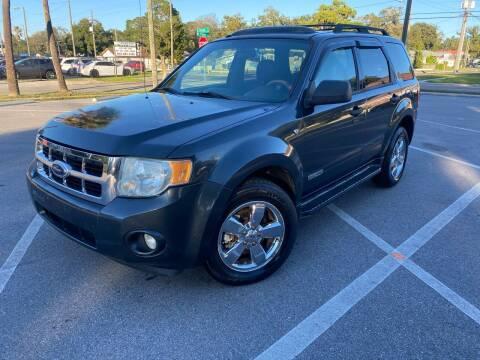 2008 Ford Escape for sale at CHECK  AUTO INC. in Tampa FL