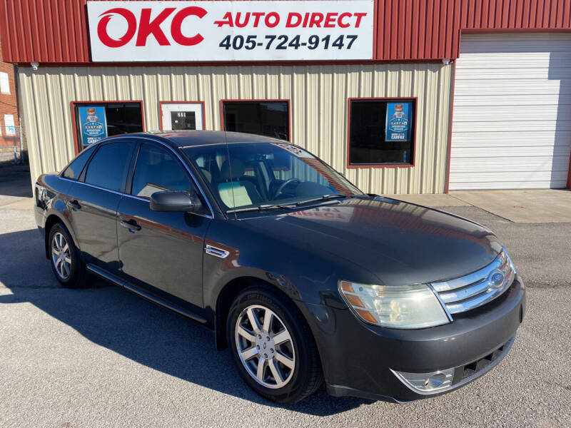 2008 Ford Taurus for sale at OKC Auto Direct in Oklahoma City OK