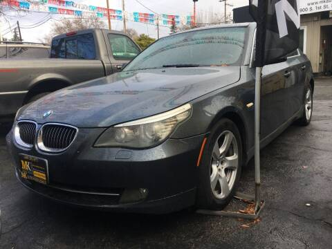 2008 BMW 5 Series for sale at MK Auto Wholesale in San Jose CA