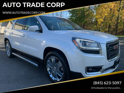 2017 GMC Acadia Limited for sale at AUTO TRADE CORP in Nanuet NY