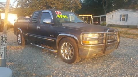 2000 Chevrolet Silverado 1500 for sale at Rayz Car Lot in Selma NC