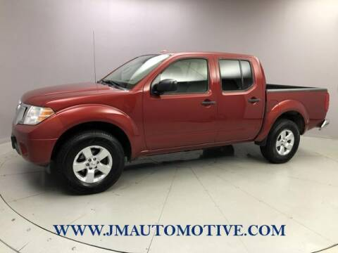 2013 Nissan Frontier for sale at J & M Automotive in Naugatuck CT