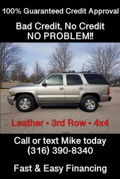 2002 Chevrolet Tahoe for sale at Affordable Mobility Solutions, LLC - Standard Vehicles in Wichita KS