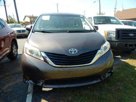2011 Toyota Sienna for sale at WOOD MOTOR COMPANY in Madison TN