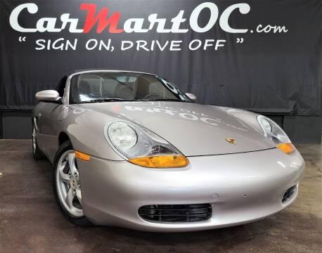 2001 Porsche Boxster for sale at CarMart OC in Costa Mesa CA