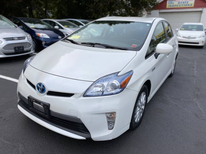 2013 Toyota Prius Plug-in Hybrid for sale at 1A Auto Sales in Walpole MA