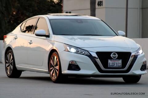 2019 Nissan Altima for sale at Euro Auto Sales in Santa Clara CA