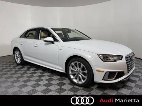 2019 Audi A4 for sale at CU Carfinders in Norcross GA