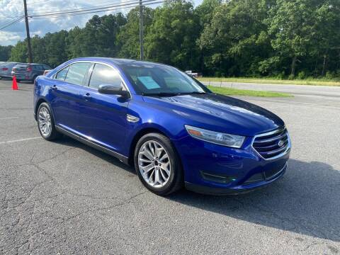 2013 Ford Taurus for sale at CVC AUTO SALES in Durham NC