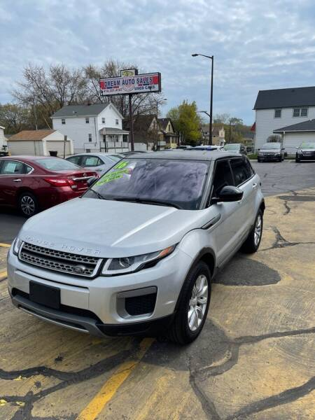 2016 Land Rover Range Rover Evoque for sale at Dream Auto Sales in South Milwaukee WI