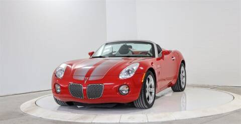 2008 Pontiac Solstice for sale at Mershon's World Of Cars Inc in Springfield OH