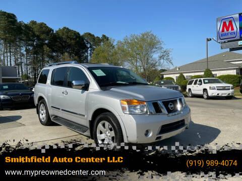 2014 Nissan Armada for sale at Smithfield Auto Center LLC in Smithfield NC
