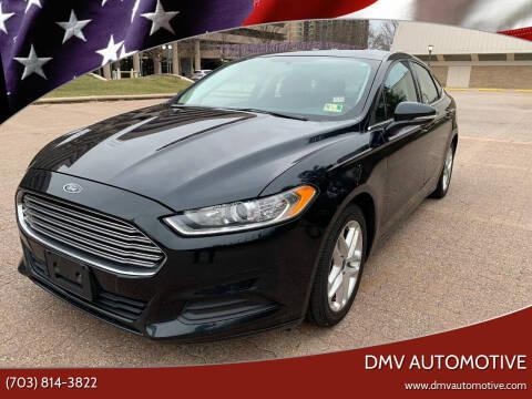 2014 Ford Fusion for sale at DMV Automotive in Falls Church VA