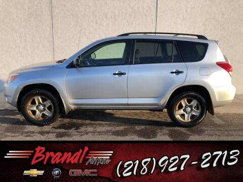 2008 Toyota RAV4 for sale at Brandl GM in Aitkin MN