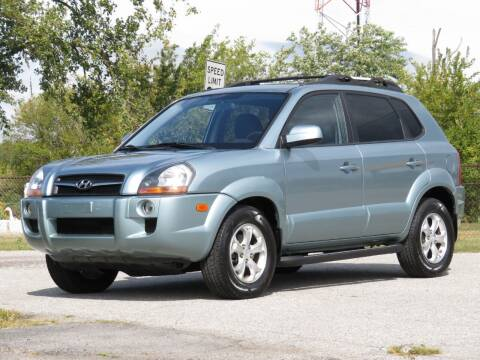 2009 Hyundai Tucson for sale at Tonys Pre Owned Auto Sales in Kokomo IN