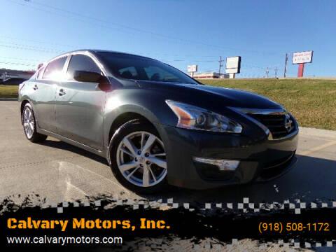 2013 Nissan Altima for sale at Calvary Motors, Inc. in Bixby OK