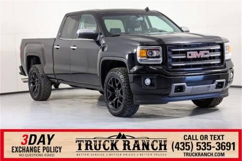 2014 GMC Sierra 1500 for sale at Truck Ranch in Logan UT
