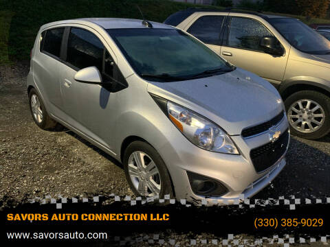 2015 Chevrolet Spark for sale at SAVORS AUTO CONNECTION LLC in East Liverpool OH