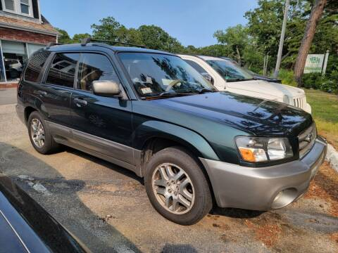 2005 Subaru Forester for sale at MBM Auto Sales and Service in East Sandwich MA