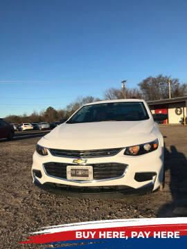 2018 Chevrolet Malibu for sale at CAR CORNER in Van Buren AR
