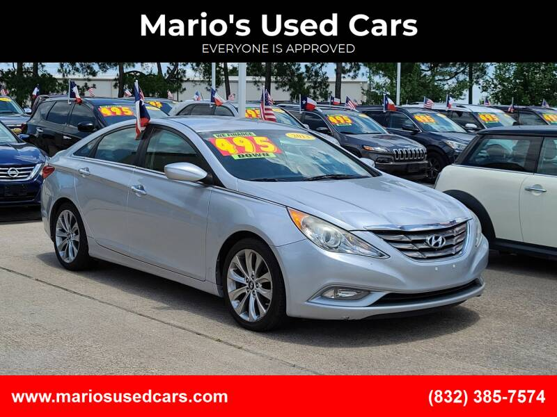 2013 Hyundai Sonata for sale at Mario's Used Cars in Houston TX