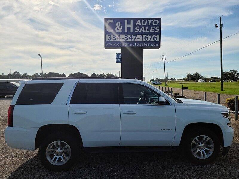 2020 Chevrolet Tahoe for sale at C & H AUTO SALES WITH RICARDO ZAMORA in Daleville AL