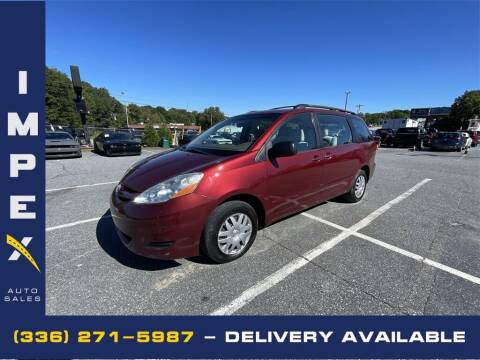 2006 Toyota Sienna for sale at Impex Auto Sales in Greensboro NC