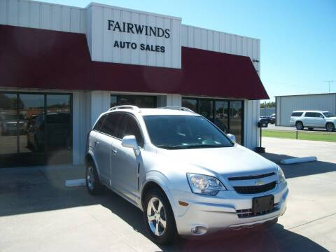 2014 Chevrolet Captiva Sport for sale at Fairwinds Auto Sales in Dewitt AR