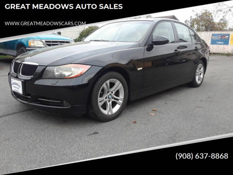 2008 BMW 3 Series for sale at GREAT MEADOWS AUTO SALES in Great Meadows NJ