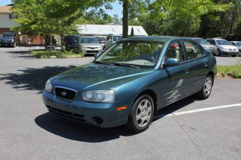 2003 Hyundai Elantra for sale at Auto Bahn Motors in Winchester VA