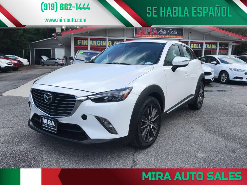 2017 Mazda CX-3 for sale at Mira Auto Sales in Raleigh NC