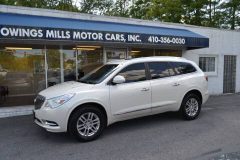 2013 Buick Enclave for sale at Owings Mills Motor Cars in Owings Mills MD