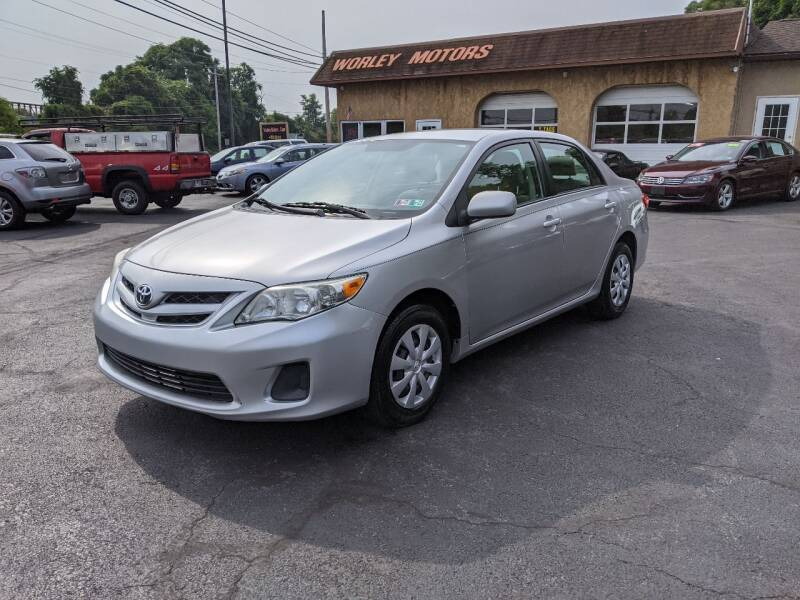 2011 Toyota Corolla for sale at Worley Motors in Enola PA