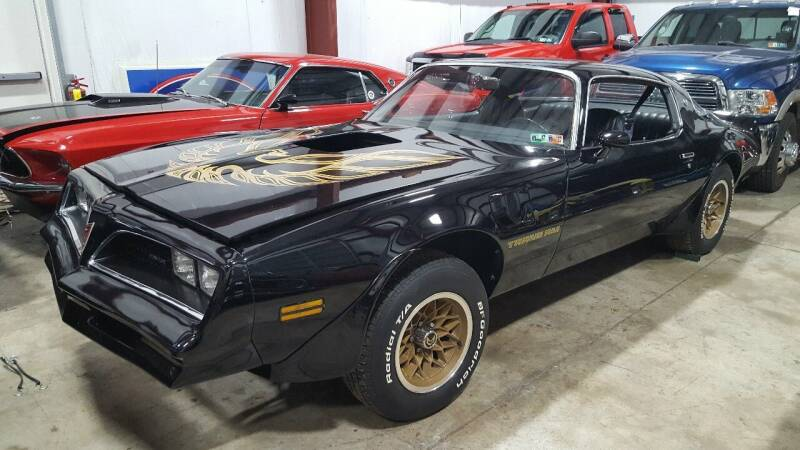 1978 Pontiac Firebird Trans Am for sale at LMJ AUTO AND MUSCLE in York PA