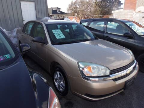 2005 Chevrolet Malibu for sale at Fulmer Auto Cycle Sales - Fulmer Auto Sales in Easton PA
