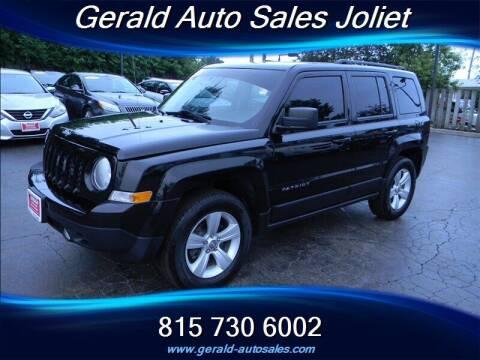 2017 Jeep Patriot for sale at Gerald Auto Sales in Joliet IL