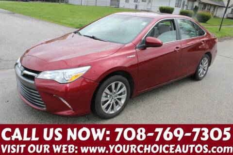 2015 Toyota Camry Hybrid for sale at Your Choice Autos in Posen IL