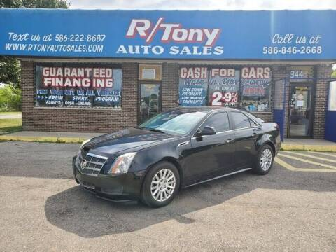 2011 Cadillac CTS for sale at R Tony Auto Sales in Clinton Township MI