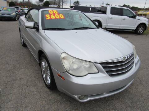 2008 Chrysler Sebring for sale at Auto Bella Inc. in Clayton NC