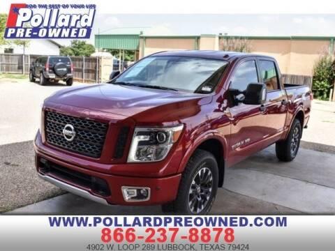 2019 Nissan Titan for sale at South Plains Autoplex by RANDY BUCHANAN in Lubbock TX