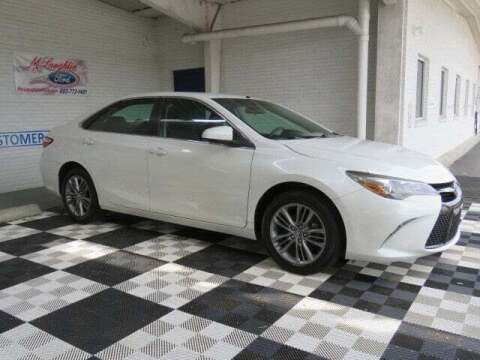 2017 Toyota Camry for sale at McLaughlin Ford in Sumter SC