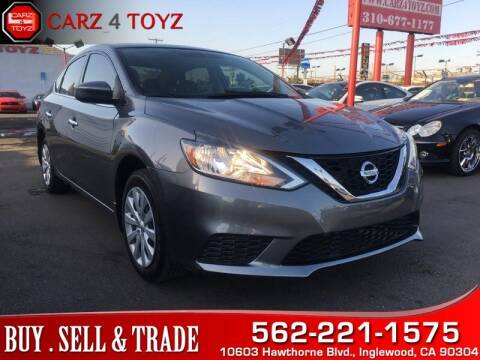 2016 Nissan Sentra for sale at Carz 4 Toyz in Inglewood CA