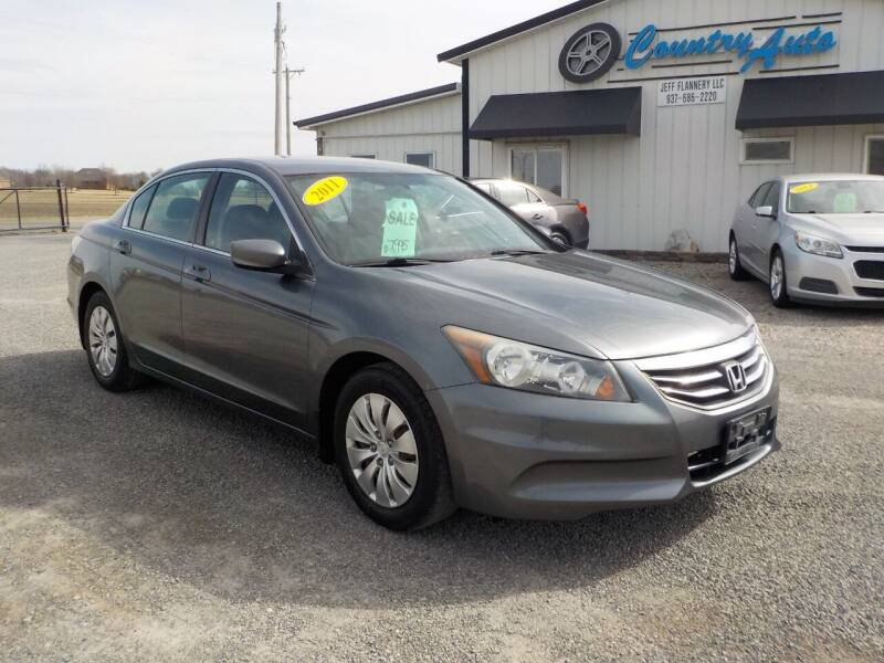 2011 Honda Accord for sale at Country Auto in Huntsville OH