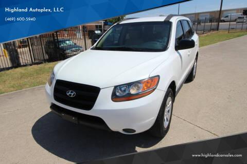 2009 Hyundai Santa Fe for sale at Highland Autoplex, LLC in Dallas TX