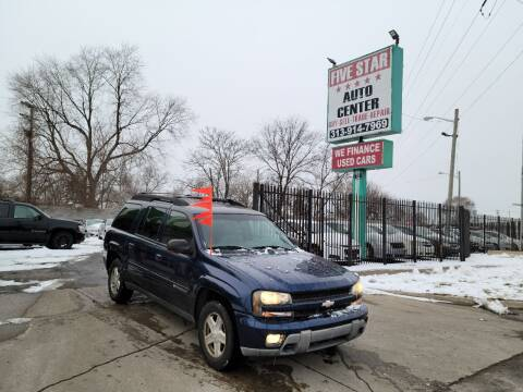 2003 Chevrolet TrailBlazer for sale at Five Star Auto Center in Detroit MI