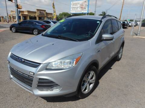 2016 Ford Escape for sale at AUGE'S SALES AND SERVICE in Belen NM